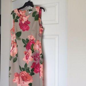 Beautiful Floral Print Dress!